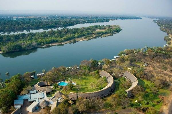 Azambezi-river-lodge-aerial-victoria-falls-zimbabwe