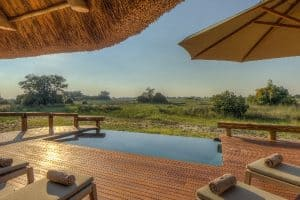 Camp-Okavango-Swimming Pool-okavango-botswana