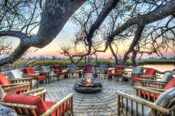 Camp-Xakanaxa-Fire-Deck-moremi-botswana