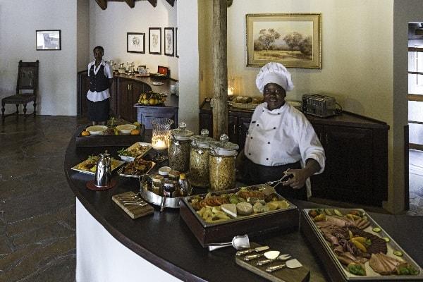 Etosha Aoba Lodge Buffet Tanzania