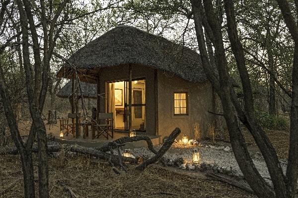 Etosha Aoba Lodge exterior namibia