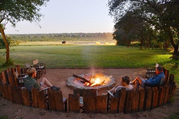 Ivory-lodge-firepit-hwange-zimbabwe