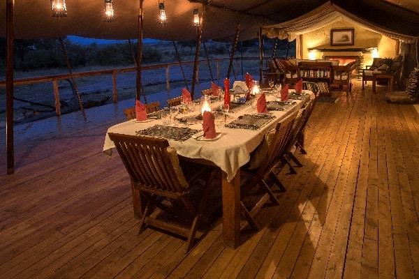 Offbeat Mara dining room masai mara kenya