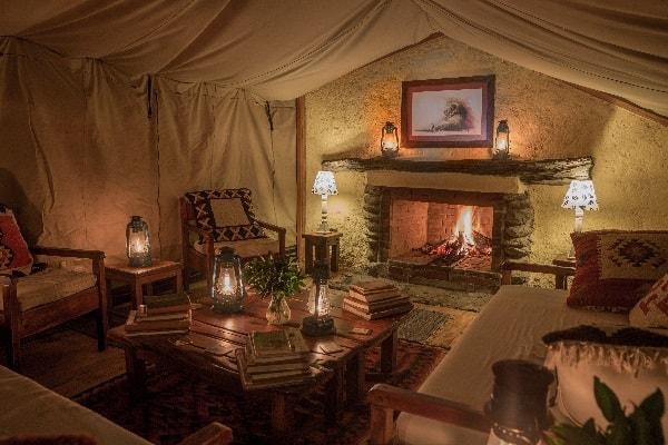 Offbeat Mara sitting room masai mara kenya