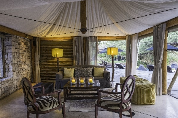 Onguma Tented Camp Reception Etosha Namibia