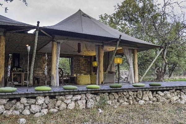 Onguma Tented Camp exterior Etosha Namibia