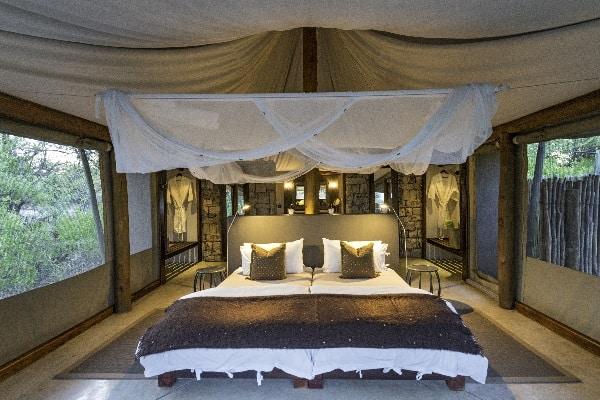 Onguma Tented Camp room Etosha Namibia