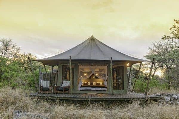 Encounter Africa Onguma Tented Camp Etosha Nambia