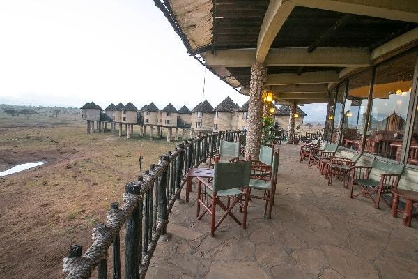 Sarova Salt Lick Game Lodge - Bura Restaurant Terrace-tsavo-kenya