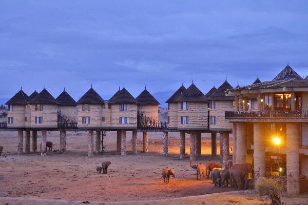 Sarova Salt Lick Game Lodge - Exterior view-tsavo-kenya