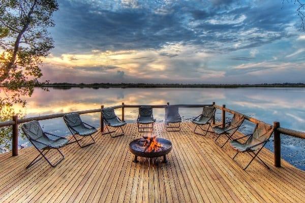 Xugana-Island-Lodge-Fire-Deck-okavango-botswana
