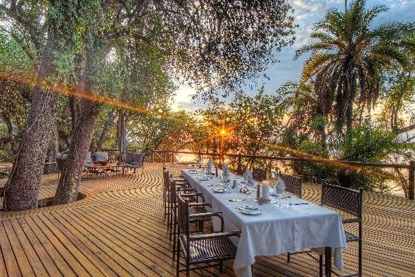 Xugana-Island-Lodge-Outdoor-Dining-okavango-botswana