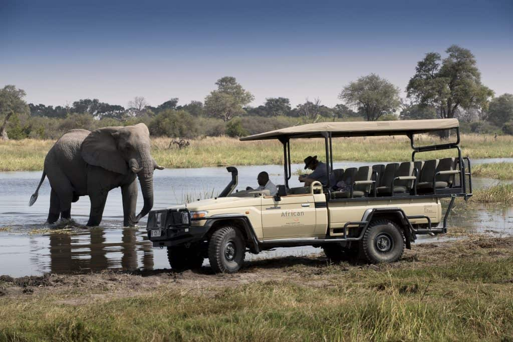 Encounter Africa Khwai Bush Camp Moremi Game Reserve Botswana