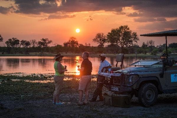 machaba-camp-sundowners-moremi-botswana